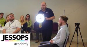 Jessops Academy training with Michael Mann