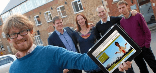 PRESS: Nimble's growth is featured in the business section of Stroud News & Journal
