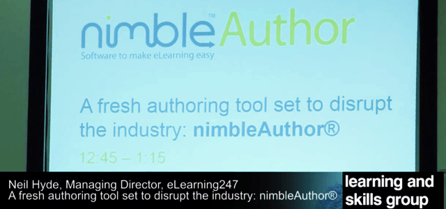 Nimble Author Shines at 2014 Learning Technologies Summer Forum