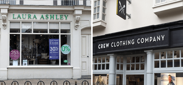 High Street Favourites Laura Ashley and Crew Clothing Join the Nimble Community