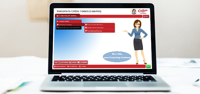 Cotton Traders – elearning with personality!