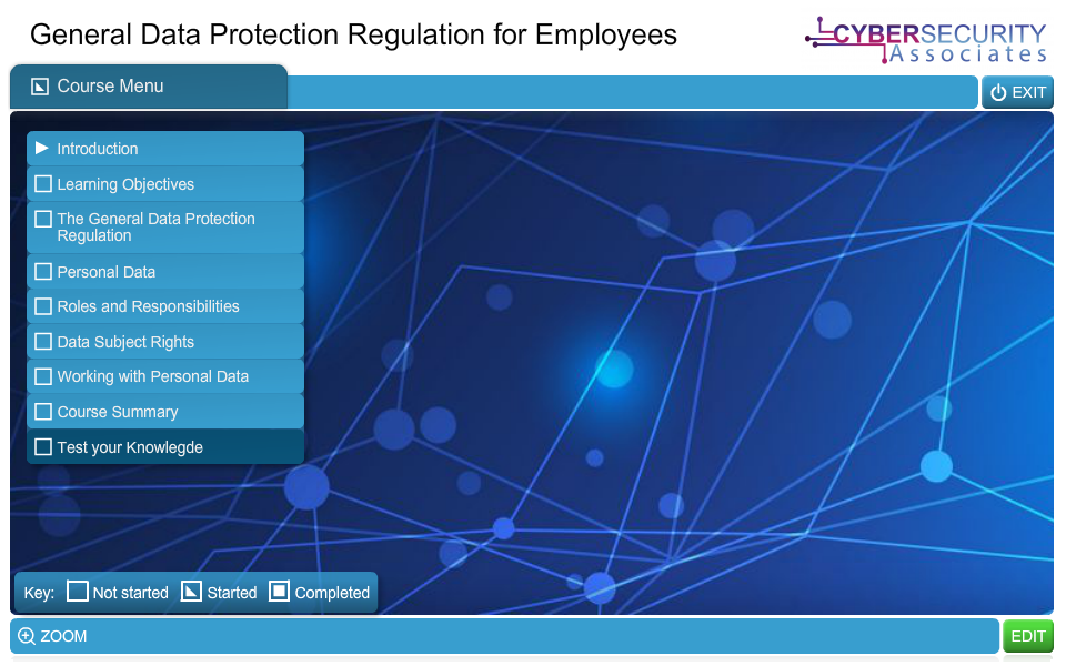 General Data Protection Regulation for Employees