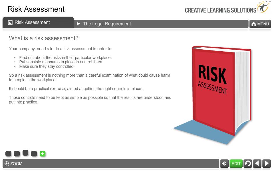 Health and Safety Risk Assessment