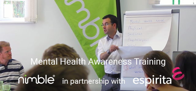 Mental Health First Aid (MHFA): Nimble Elearning partners with Espirita Workforce Solutions