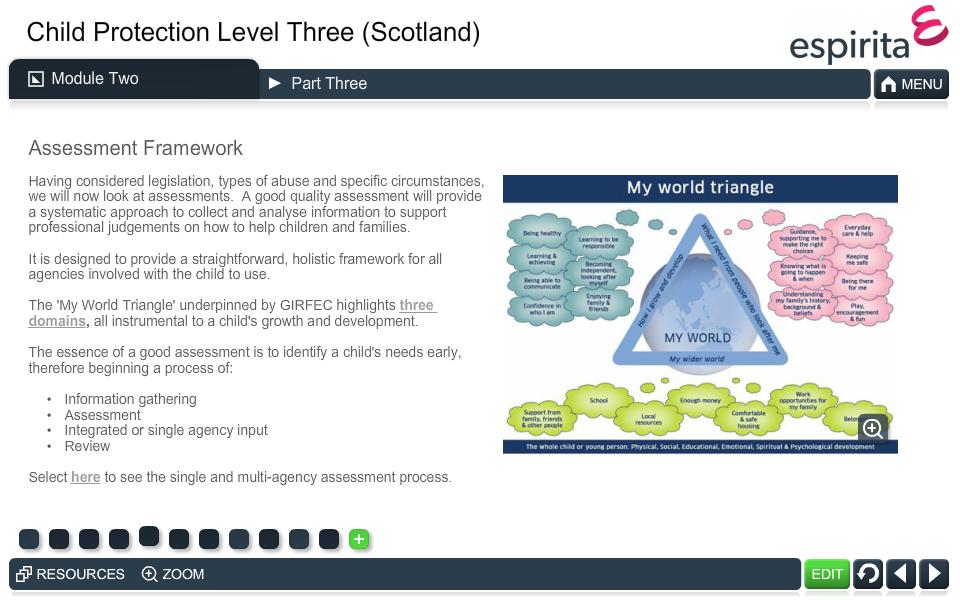 Child Protection Level 3 (Scotland)