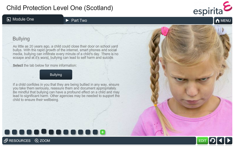 Child Protection Level 1 (Scotland)