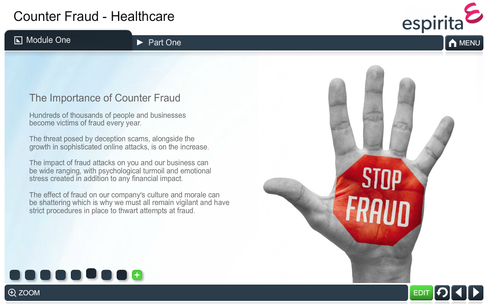 Counter Fraud (Healthcare)