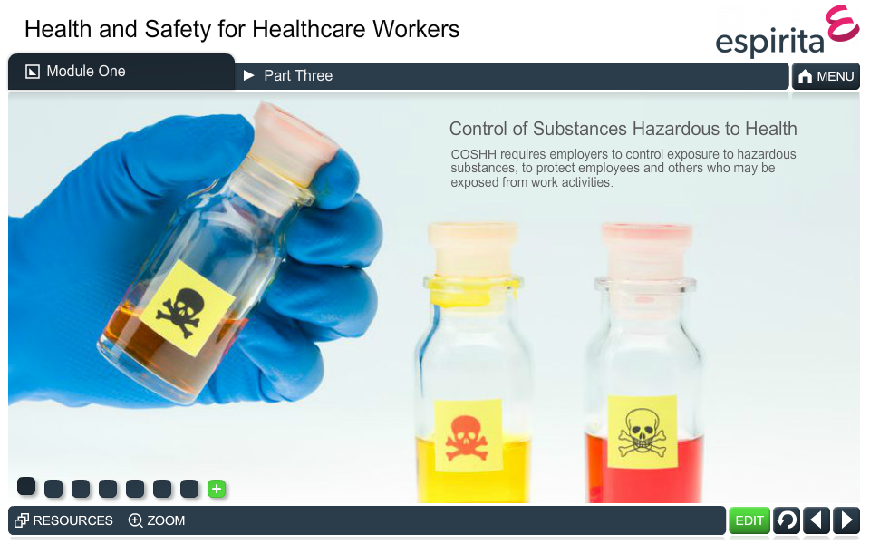Health and Safety for Healthcare Workers