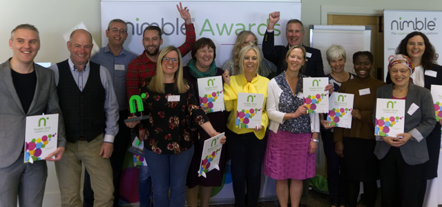 Celebrating success at the Nimble Community Day – Conference, Networking and Awards