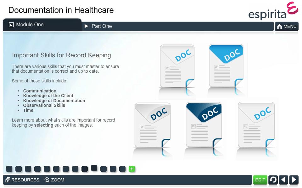 Documentation in Healthcare