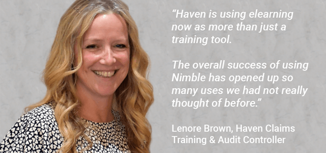 Nimble Elearning and Haven Claims partner at the Call & Contact Centre Expo