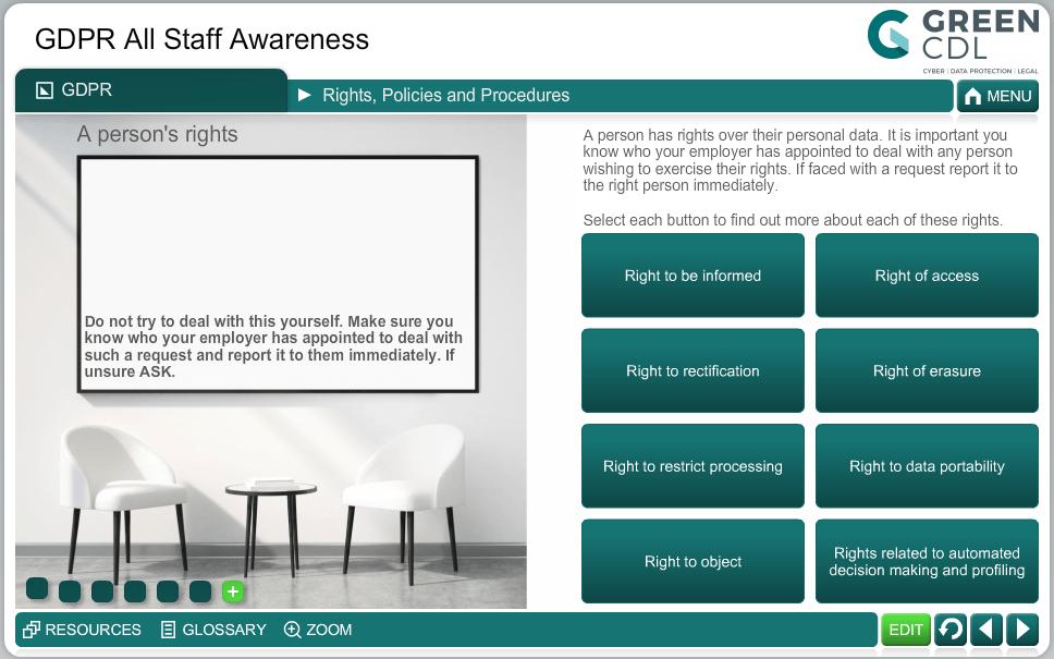 GDPR All Staff Awareness; Short Course
