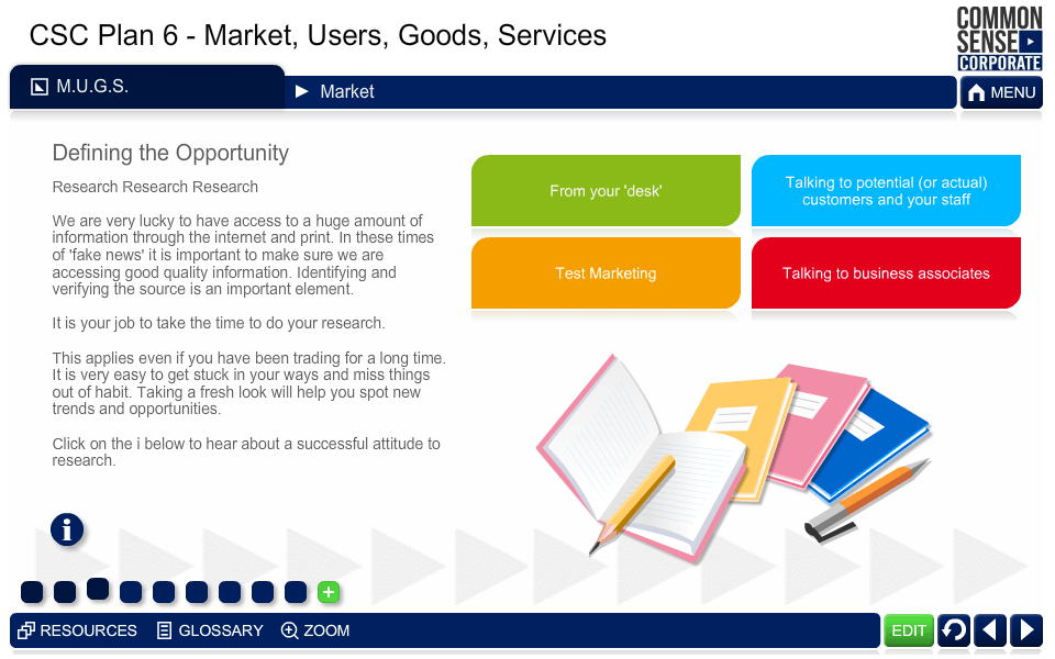 CSC Business Plan 6; Market, Users, Goods, Services