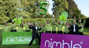 The Nimble team celebrate their 5th Birthday!