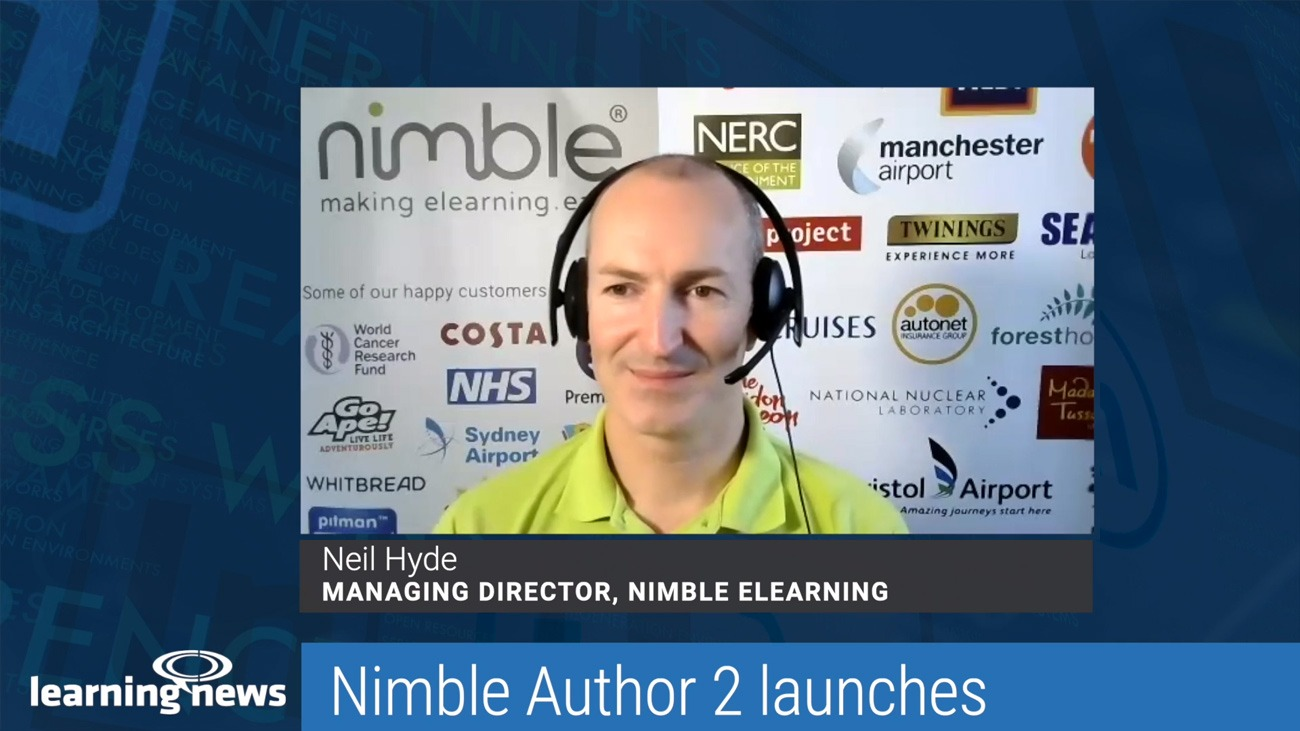 Learning News: Nimble Author 2 Launches