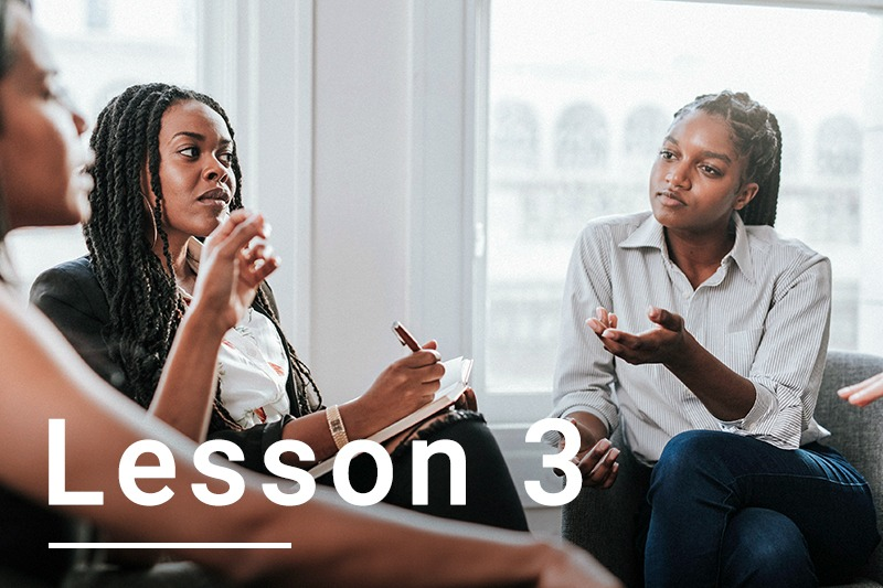 Lesson 3: make it policy to listen to your learners' voices