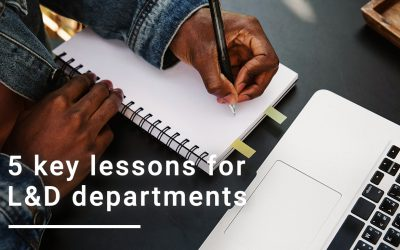 5 Key Lessons for Learning and Development Departments