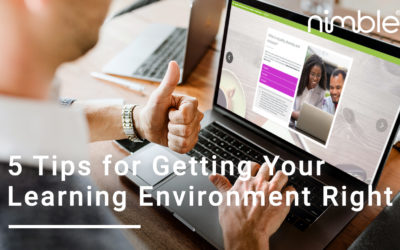 5 Tips for Getting Your Learning Environment Right