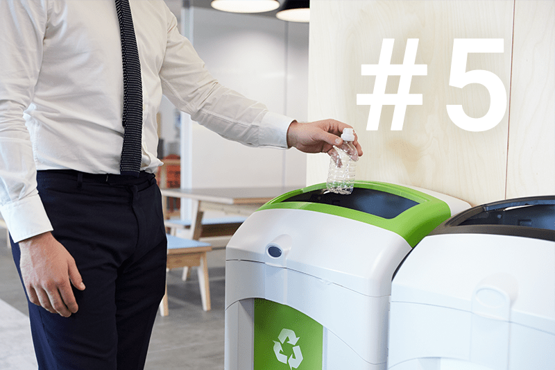 5: Make recycling a no-brainer