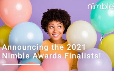 Announcing the 2021 Nimble Awards Finalists!