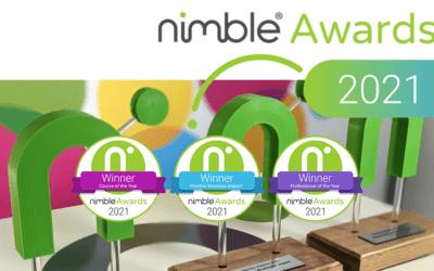 Nimble Elearning Celebrate Their 2021 Nimble Awards Winners